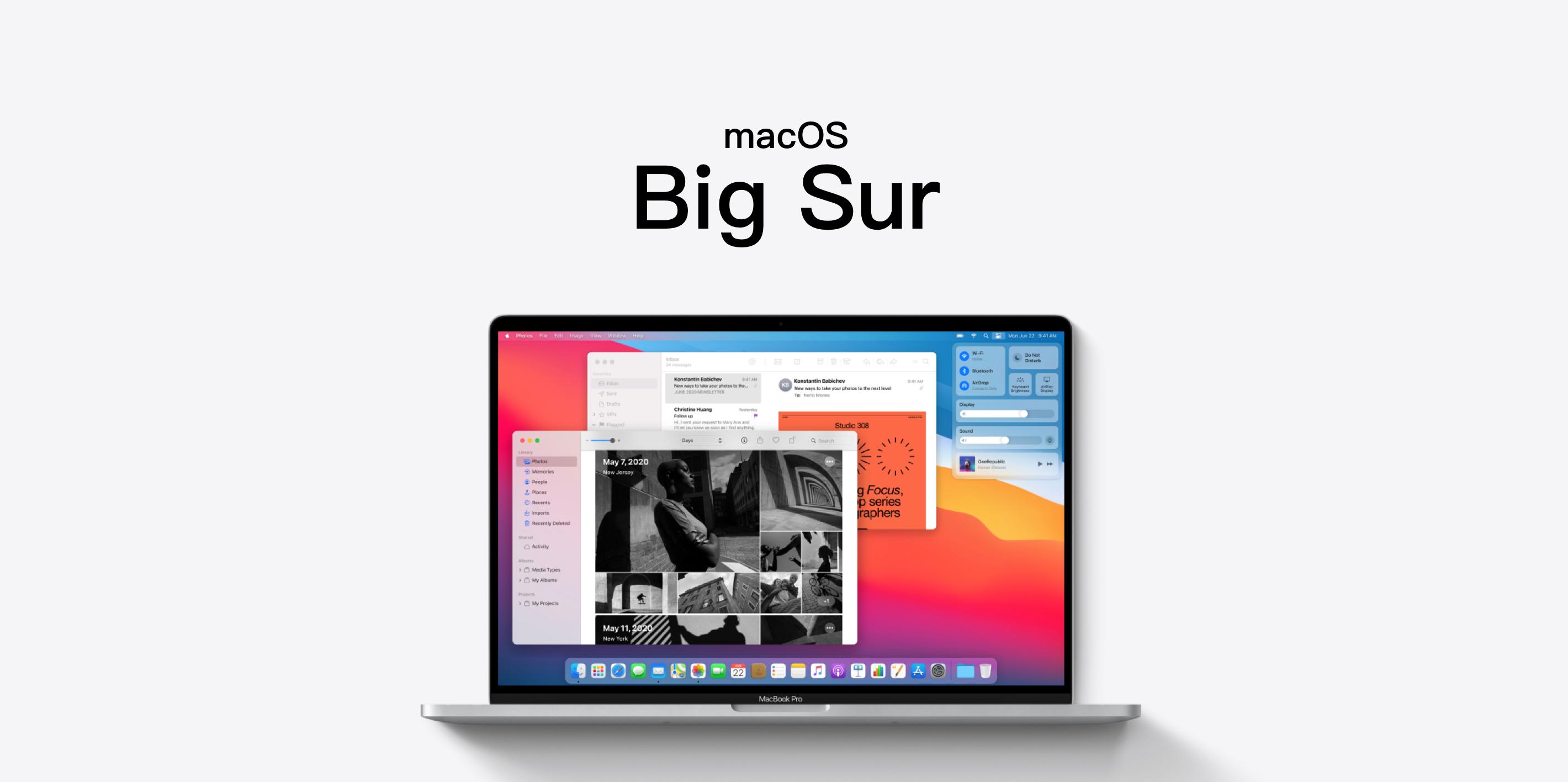 macOS Big Sur 终于来了,升级后先试试这些新功能