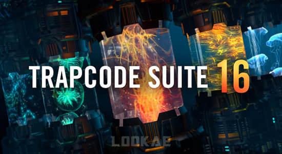 红巨人粒子特效套装AE/PR插件Trapcode Suite 16.0.4 含Particular/Form/Shine/Starglow/3D Stroke等