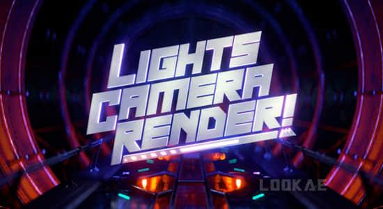 C4D高级精品教程-灯光摄像机动画场景渲染讲解学习 SOM-Lights, Camera, Render!