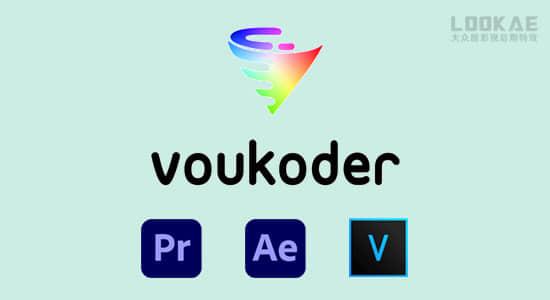 AE/PR/ME/VEGAS多格式视频编码渲染加速输出插件 Voukoder v8.0 Win中文版