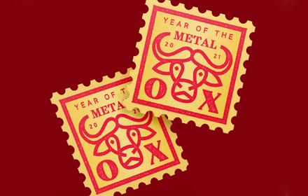 Ai 教程!从零开始教你制作油墨印刷质感邮票